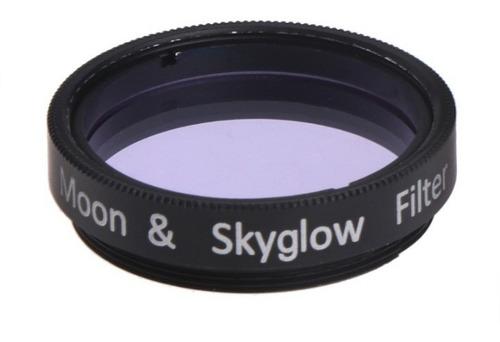Filtro Moon Skyglow Telescópio Lunar Poluição Luminosa 1,25