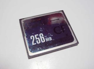 Cartão Compactflash Unigem Enterprise Cf 256mb Original