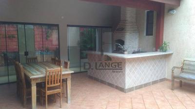 Casa Com 3 Dormitórios À Venda, 250 M² Por R$ 1.500.000 - Loteamento Residencial Barão Do Café - Campinas/sp - Ca12191