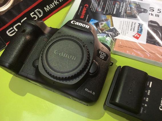 Canon 5d Mark Iii Full Frame Só O Corpo 16k Clicks