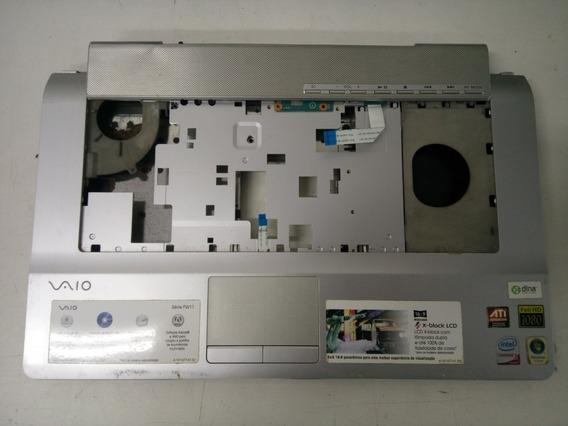 Carcaça Base Inferior Com Tampas Touchpad Sony Vaio Pcg 3b1m