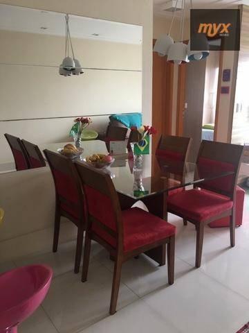 Apartamento Com 2 Dormitórios Para Alugar, 72 M² Por R$ 2.200/mês - Aparecida - Santos/sp - Ap5530