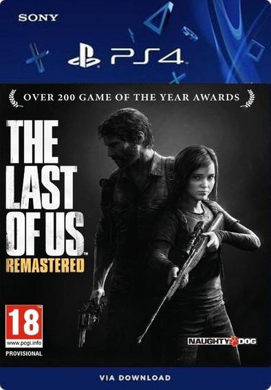 The Last Of Us Remastered Ps4 Português /digital /original1