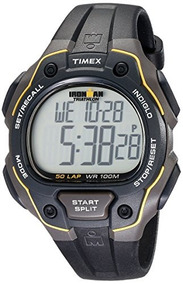 7cccec9d0eef Reloj Timex Ironman Negro Modelo T5k494 - Relojes de Hombres en ...