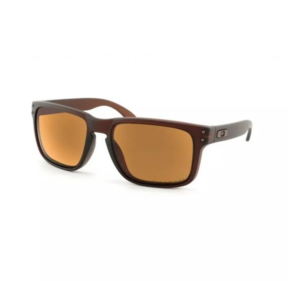 Oculos De Sol Holbrook Marrom Quadrado Polarizado Promoçâo!!