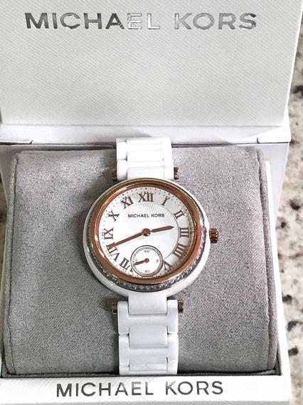 Relógio Michael Kors Mk6240 Pulseira Cerâmica Original