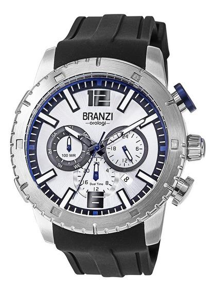 Reloj Caballero Branzi By Citizen 21026 Acero Caucho