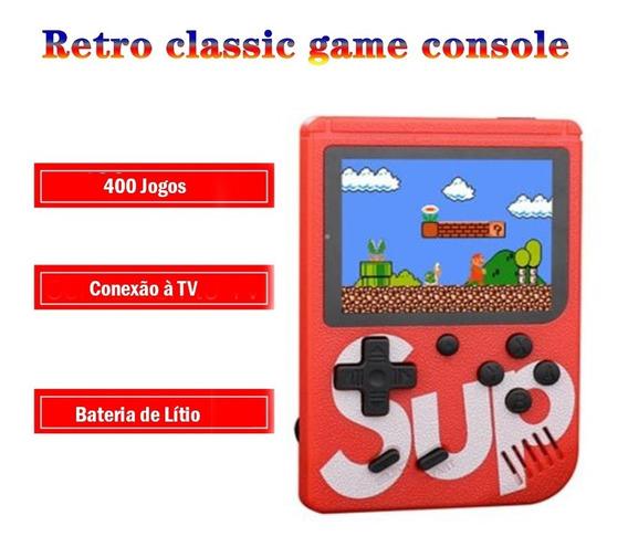Mini Game Retro Games 400 Jogos Tela 3,0 Nostálgico