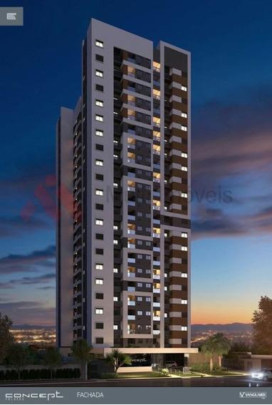 Apartamento Na Planta - Edifício Concept - Mi100