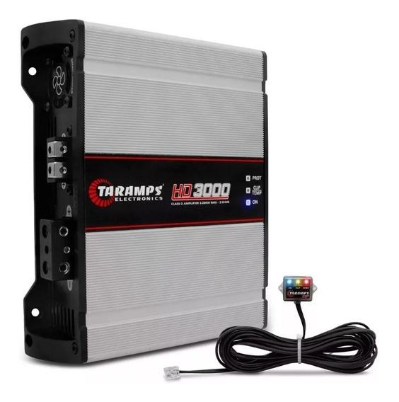 Modulo Taramps Hd 3000 2 Ohms 3000w Amplificador Automotivo