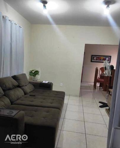 Casa À Venda, 160 M² Por R$ 295.000,00 - Núcleo Residencial Presidente Geisel - Bauru/sp - Ca2496