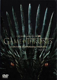 Game Of Thrones Octava Temporada 8 Ocho Dvd