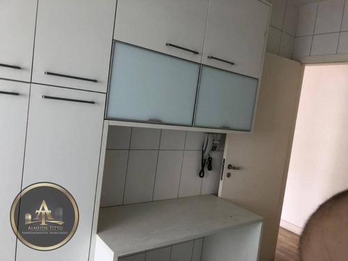 Excelente Apartamento Para Locação No Condomínio Jardim De Monet - Alphaville - Confira! - Ap1173