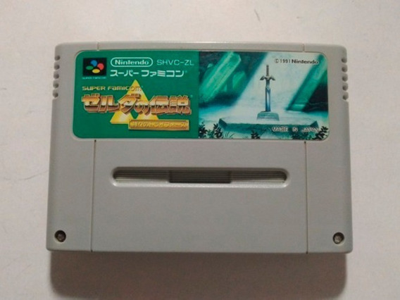Super Nintendo - The Legend Of Zelda Original Japonesa Snes