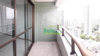 Apartamento Com 3 Dormitórios À Venda, 93 M² Por R$ 530.000 - Espinheiro - Recife/pe - Ap1283