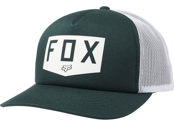 Gorra Fox Dama Trucker Shield Verde