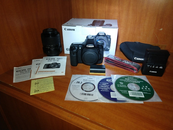 Câmera Canon 70d + Lente Canon Mp-e 65mm F/2.8 1-5x Macro