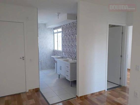Apartamento Com 2 Dormitórios À Venda 38 M² - Vila Das Belezas. - Ap1131