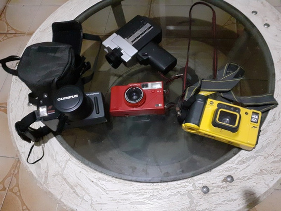 Kit 3 Câmerafotográfica + Filmadora Antiga (leia O Anuncio)