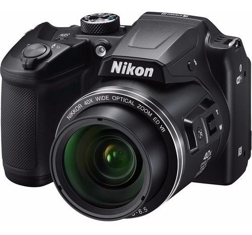 Câmera Nikon Coolpix B500 16mp Zoom 40x 12x S/juros