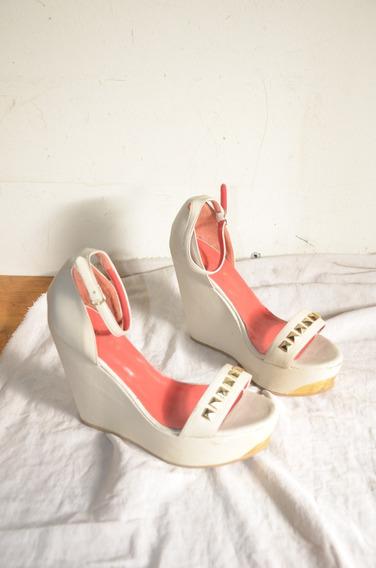 Sandalias Zapatos Lázaro En Excelente Estado 38
