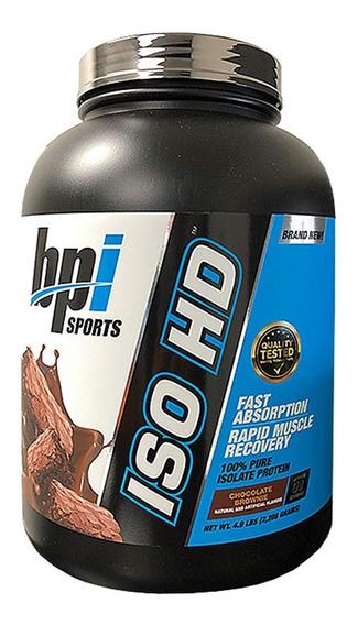 Proteina Bpi Iso Hd 5 Lbs (70 Porciones) Todos Los Sabores
