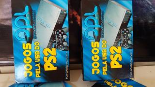 Playstation 2 Slim + Mc +opl +pendrive 32gb + De 20 Jogos