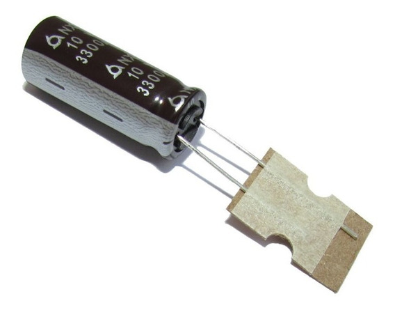Kit Com 10 Capacitores Eletrolítico 3300uf 10v Para Projetos