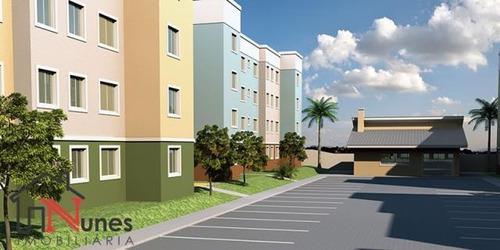 Apartamento No Bairro Planta Almirante Em Almirante Tamandaré Pr - 14478