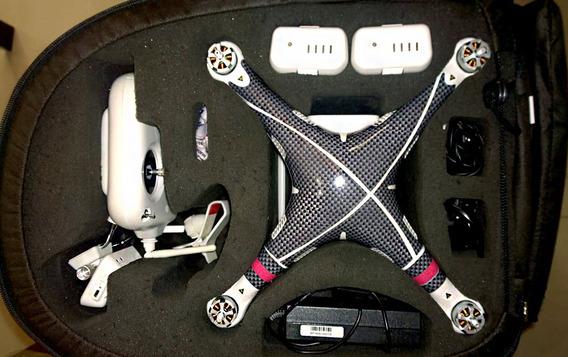 Drone Phanton 2 Vision Plus Completo + Case E Acessórios