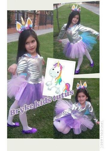 Disfraz Disfraces Tutu Niña Unicornio Halloween
