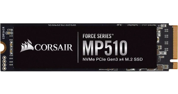 Ssd Corsair Force Mp510 480gb, M.2 Nvme Para Notebook Dell