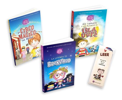 Set De 3 Libros Hector Domingo + 6 Separadores De Lectura