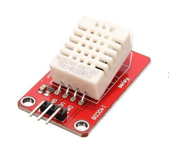 Modulo Sensor De Temperatura E Humidade Am2302 Dht22 Arduino