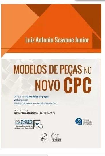 Modelos De Peças No Novo Cpc - 3ª Ed. 2017