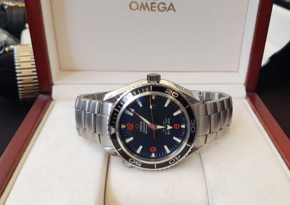 Relógio Omega Seamaster Planet Ocean Cerâmica - Original