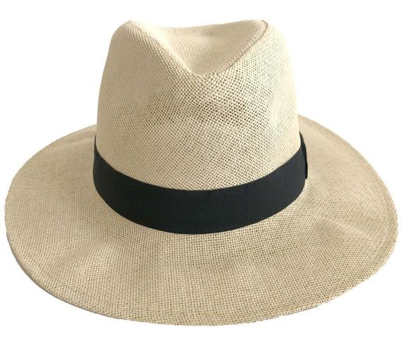 Sombrero Estilo Panama Tramado Compañia De Sombreros 863326