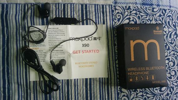 Fone In Ear Moxpax X90 Bluetooth 4.1 Original Duplo Drive