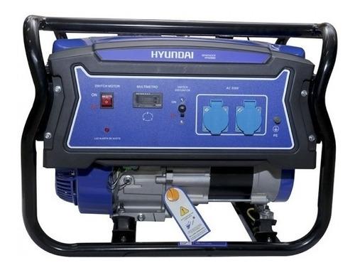 Generador Eléctrico Hyundai Gasolina Manual 2,2/2 Kw/kva