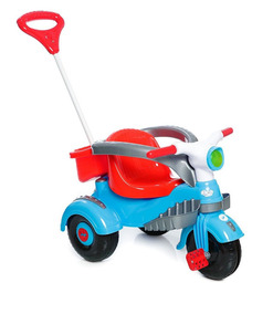 Carrinho Motoca Triciclo Infantil Velocita Vermelho Calesita