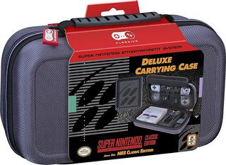 Estuche Delux Nintendo Snes Nes Mini Classic Case