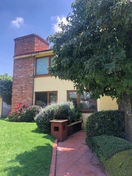 Rento/vendo Hermosa Casa En Condominio Cuajimalpa