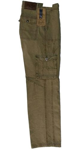 2 Pantalones Recto Tipo Cargo De Gabardina Para Hombre Mercado Libre
