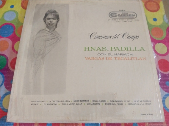 Hermanas Padilla Lp Con El Mariachi Vargas De Tecalitlan Z