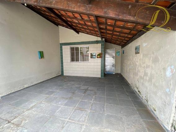 Casa Com 2 Dormitórios À Venda, 80 M² Por R$ 250.000,00 - Aviação - Praia Grande/sp - Ca0138