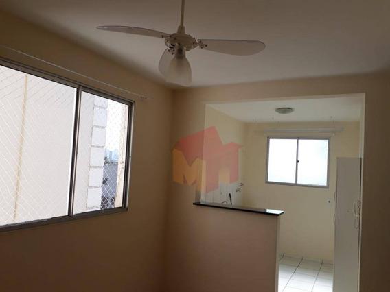 Apartamento Residencial Para Locação, Loteamento Industrial Machadinho, Americana. - Ap0185