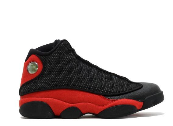 Zapatillas Nike Air Jordan 13 Retro Bred Originales