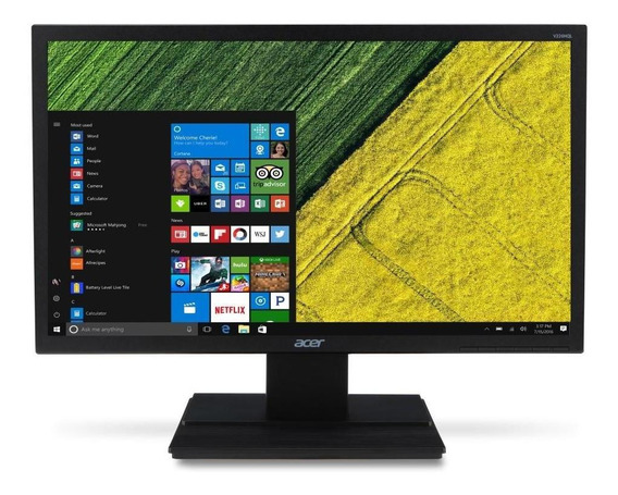 Monitor Acer 21.5 Full Hd (1920 X 1080) 60hz 5ms Dvi Hdmi