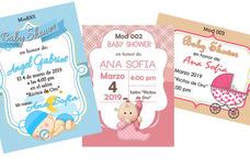 Invitaciones Baby Shower Imprime Tu, Imprimelas Tu Mismo