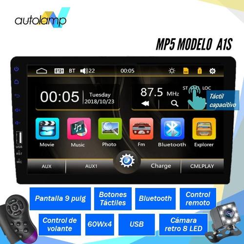 Reproductor Carro Pantalla 9 Mp5 Android Bluetooth
